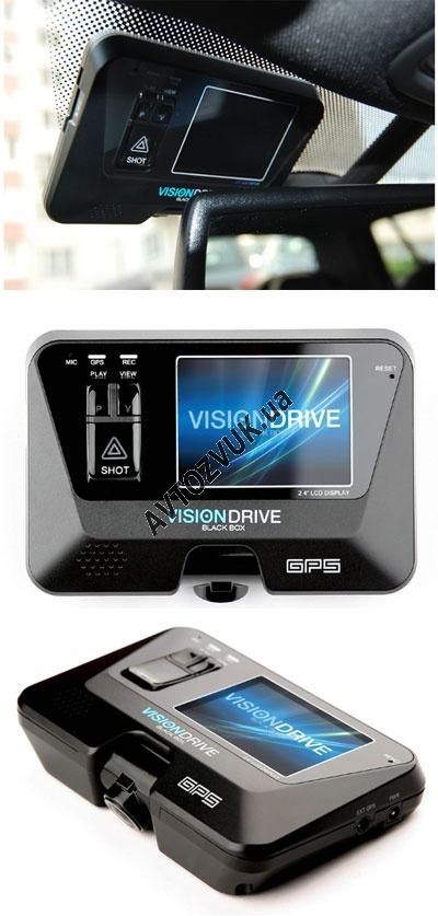 Видеорегистратор с джпс VisionDrive VD-3000